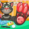 Talking Tom injured his foot in the forest. He came to your clinic and asked fo